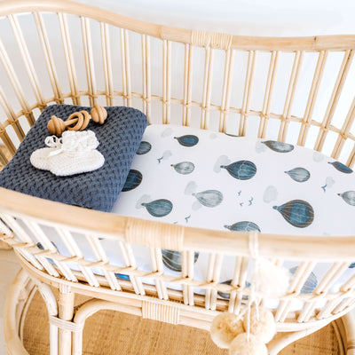 Cloud Chaser Bassinet sheet / change cover