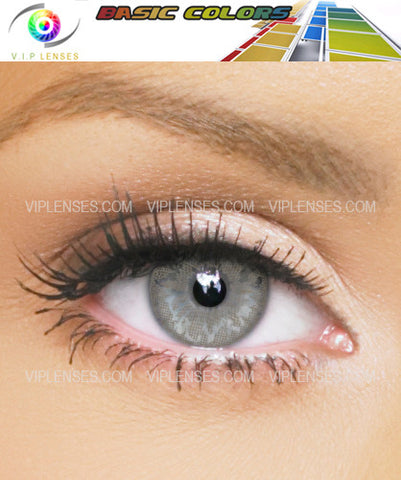 Basic Color Grey Contact Lenses