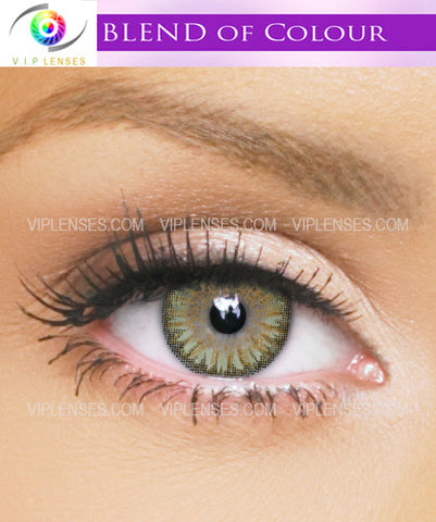 Blends Green Contact Lenses