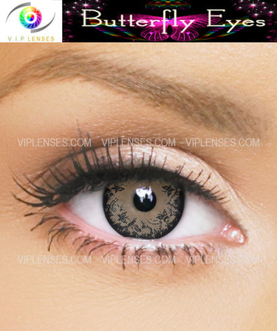 Butterfly Eyes Hazel Contact Lenses