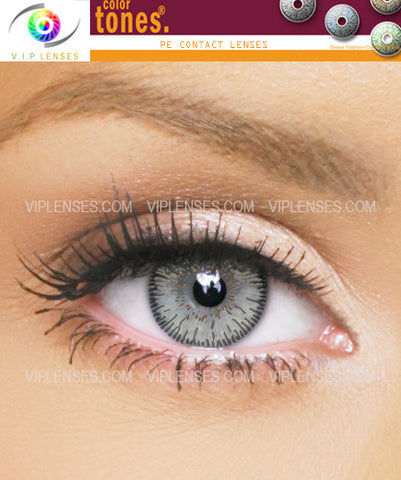 Colortones Grey Contact Lenses