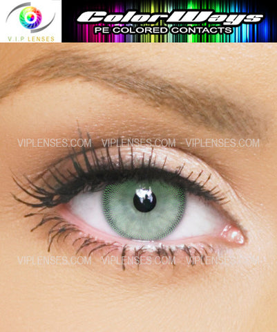 Colorways Tea Green Contact Lenses