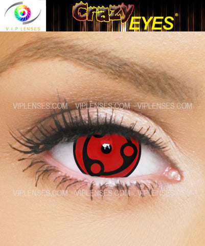 Crazy Madara Uchiha 15mm Contact Lenses