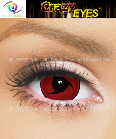 Crazy Itachi Uchiha 17mm Contact Lenses