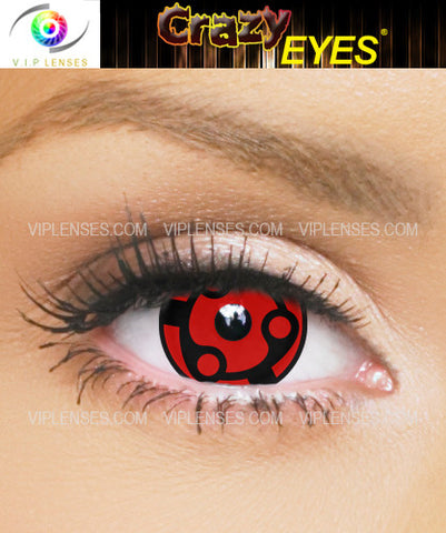 Crazy Madara Uchiha 17mm Contact Lenses
