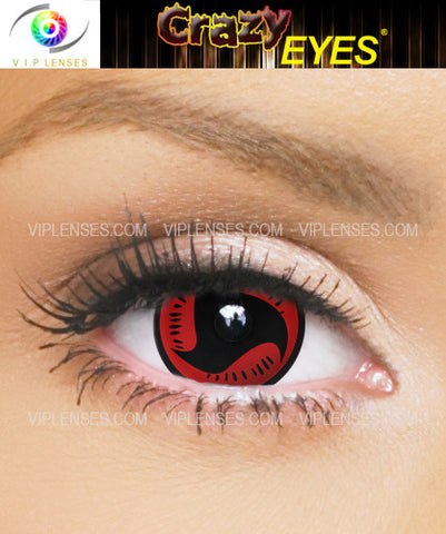 Crazy Mangekyou 17mm Contact Lenses