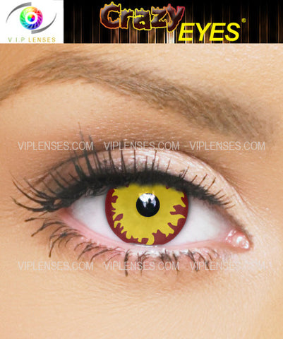 Crazy Anakin Sith Contact Lenses