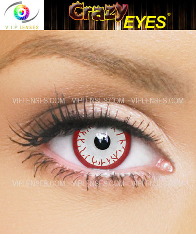 Crazy Bloodshot Contact Lenses