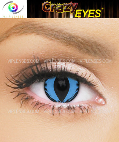 Crazy Blue Valkirye Contact Lenses