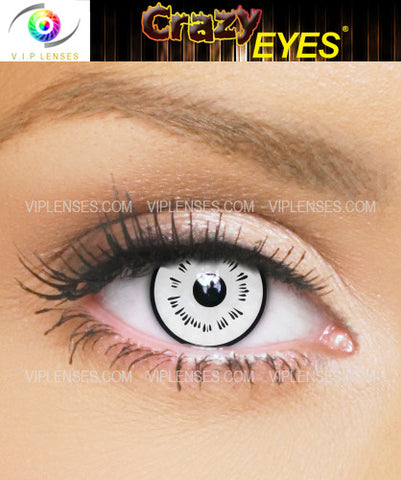 Crazy Byakugan Contact Lenses