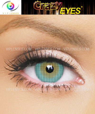 Crazy Cameleon Contact Lenses