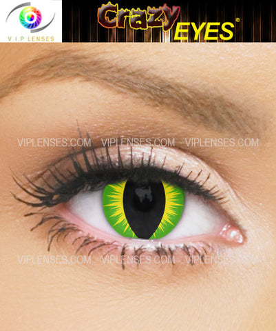 Crazy Creepers Contact Lenses