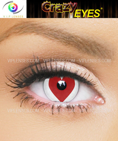 Crazy Cupid Contact Lenses