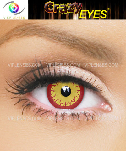 Crazy Darth Sion Contact Lenses
