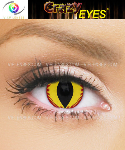 Crazy Devil Contact Lenses