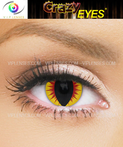 Crazy Fallen Angel Contact Lenses