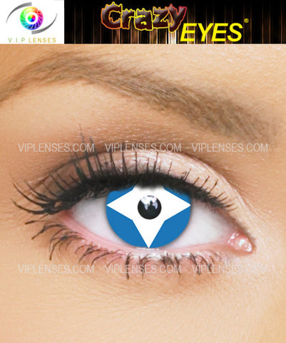 Crazy Fire Star Contact Lenses