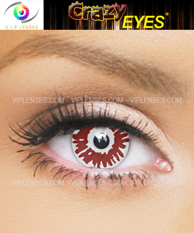 Crazy Fright Night Contact Lenses