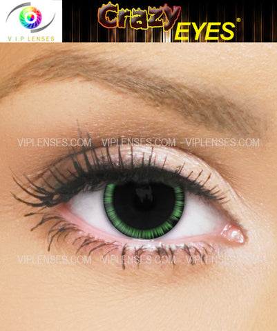 Crazy Halo Green Contact Lenses