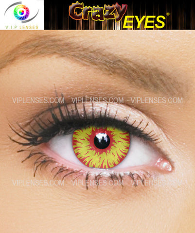 Crazy Hell Cat Contact Lenses