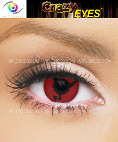 Crazy Horny Devil Contact Lenses