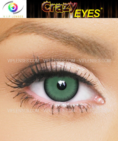 Crazy Hulk Contact Lenses