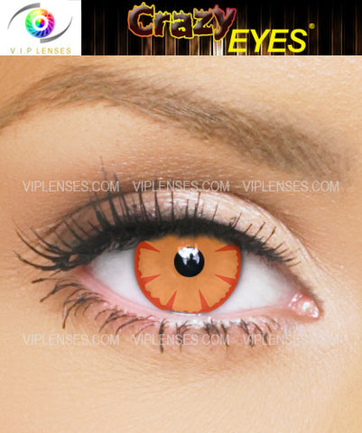 Crazy Human Torch Contact Lenses