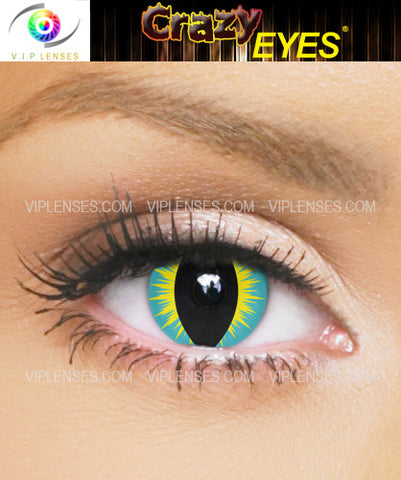 Crazy Hybrid Contact Lenses