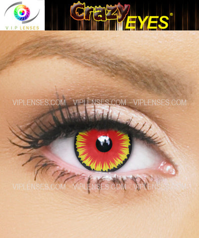 Crazy Incubus Contact Lenses