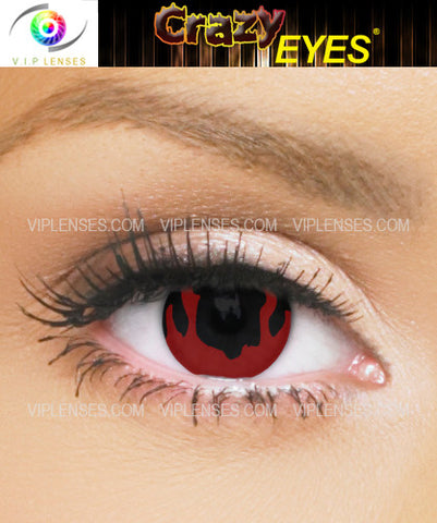 Crazy Inferno Contact Lenses