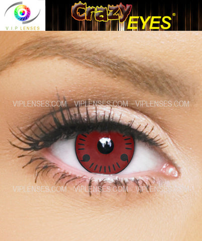 Crazy Itachi Contact Lenses