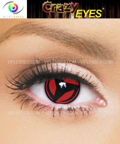 Crazy Kakashi Contact Lenses