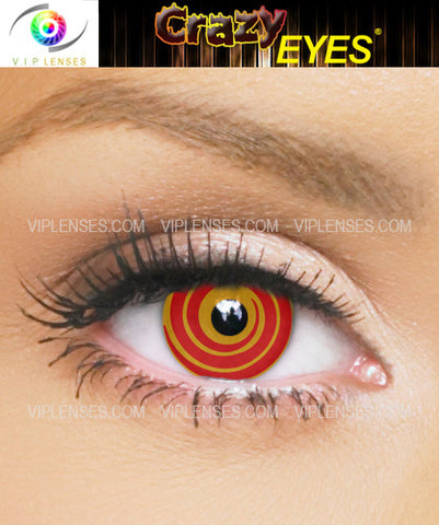 Crazy Mad Hatter Contact Lenses