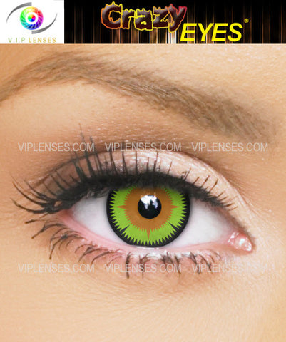 Crazy Maleficent Contact Lenses