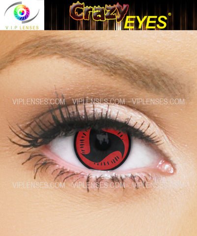 Crazy Mangekyou Contact Lenses