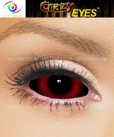 Crazy Menace Sclera Contact Lenses