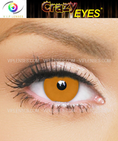 Crazy Orange Contact Lenses
