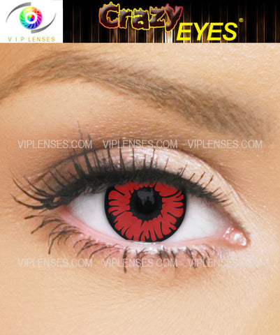 Crazy Phoenix Contact Lenses