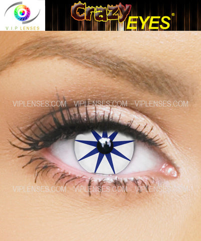 Crazy Pointed Star Contact Lenses