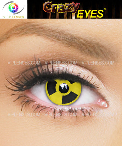 Crazy Radioactive Contact Lenses