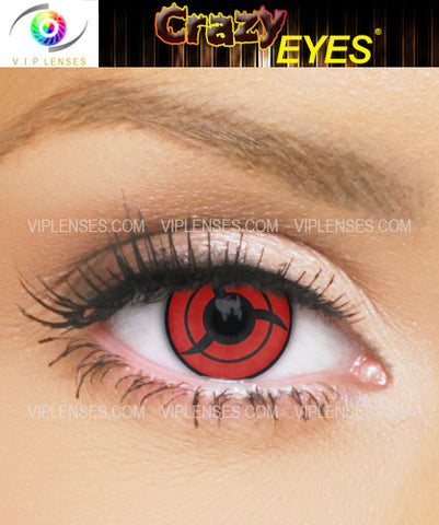 Crazy Sasuke Bladed Contact Lenses