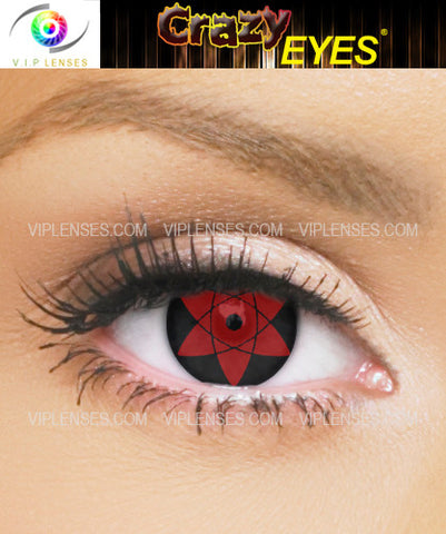 Crazy Uchiha Sasuke 15mm Contact Lenses