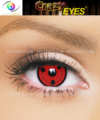 Crazy Sharingan Cosplay Contact Lenses