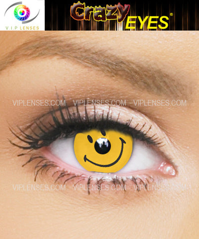 Crazy Smiley Contact Lenses