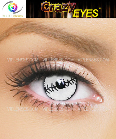 Crazy Stitches Contact Lenses