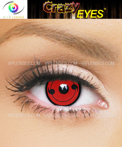 Crazy Tomoe 2 Sharingan Contact Lenses