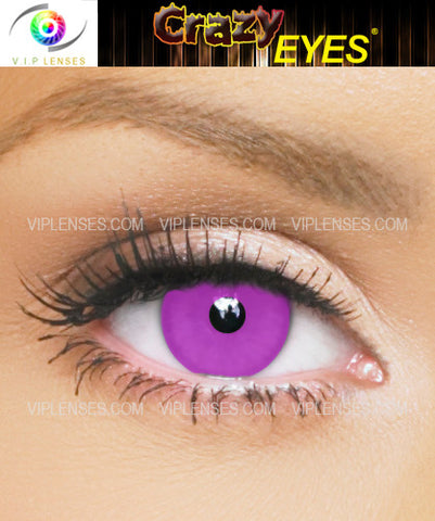 Crazy Violet Contact Lenses