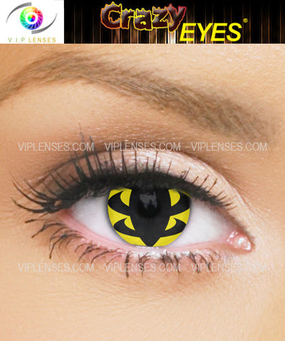 Crazy Wasp Contact Lenses