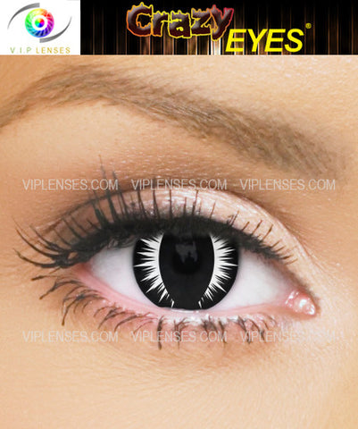 Crazy White Venom Contact Lenses