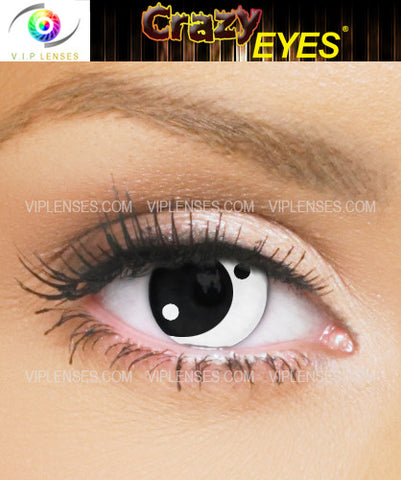 Crazy Yin Yang Contact Lenses